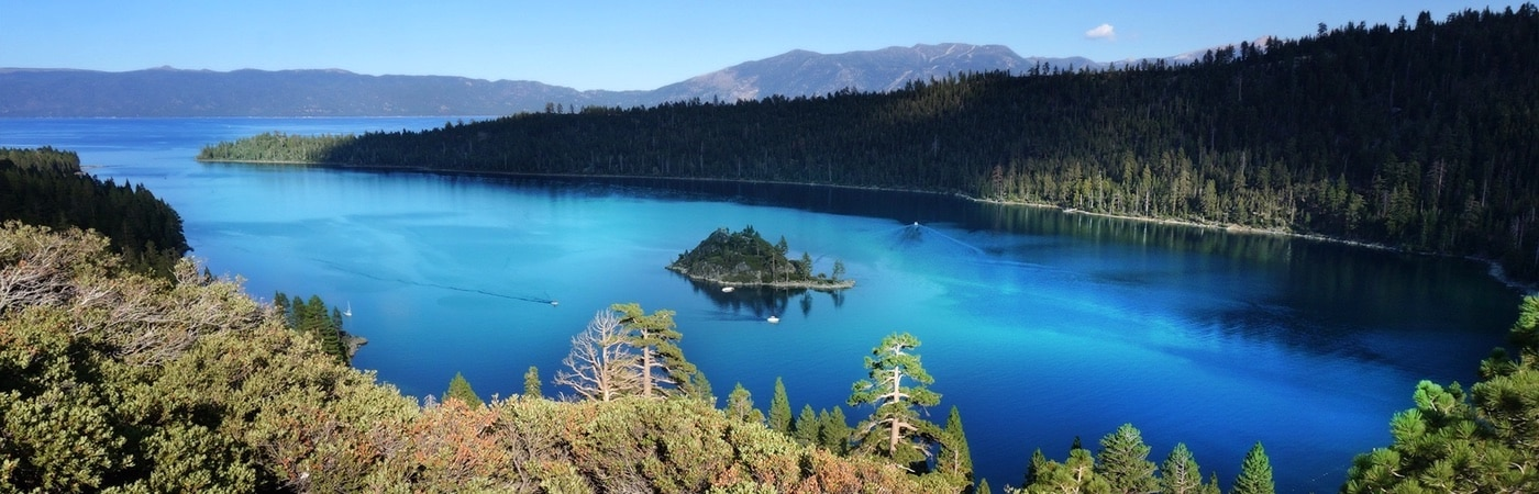 wondering what to do at lake tahoe? visit iconic emerald bay
